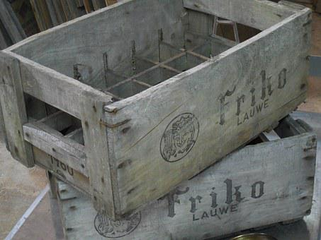 Wooden, Crate, Box, Wood, Agriculture, Container, Food