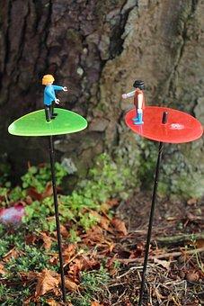 Playmobil, Males, Workers, Gardener, Miniature, Funny