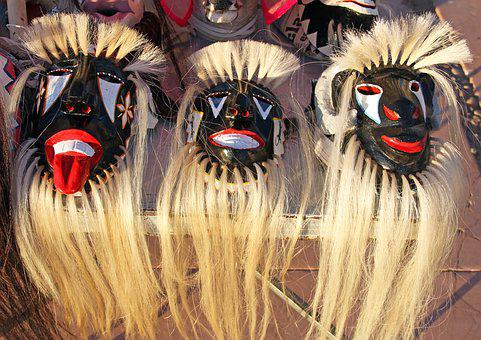 Yaqui Indian, Yaqui Masks, Yaqui Ceremonial Mask