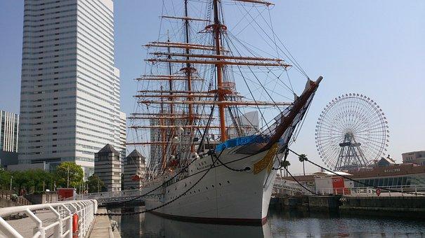 Port, Yokohama, Minato Mirai, Japan
