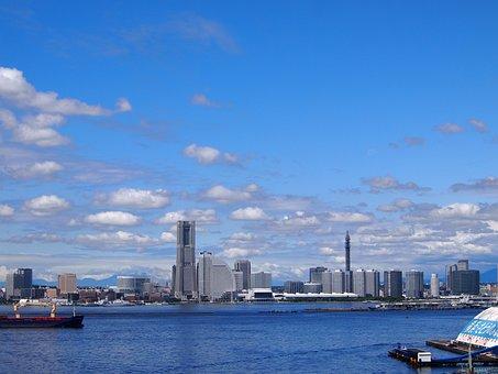 Yokohama, Minato Mirai, Landmark Tower, Port, Tanzawa