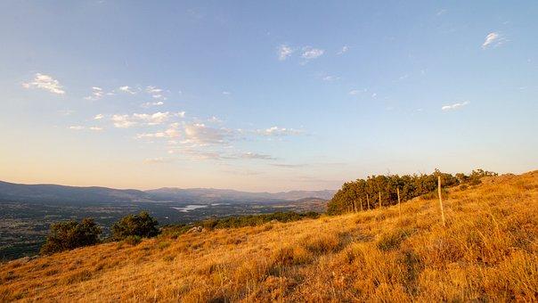 Sierra, Madrid, Guadarrama, Landscape, Sky, Clear, 10mm