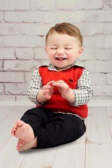 Baby, Toddler, Smile, Boy