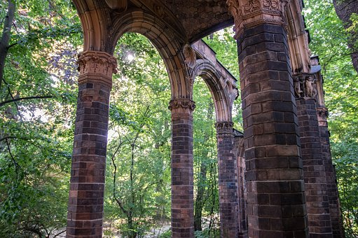 Arcade, Arches, Architecture, Building, Columnar, Gang