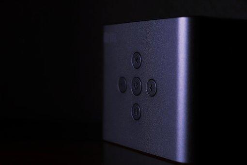 Speaker, Britz, Music, Button, Power, Volume