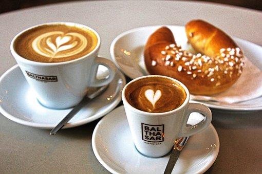 Coffee, Espresso, Caffeine, Cappuccino, Breakfast