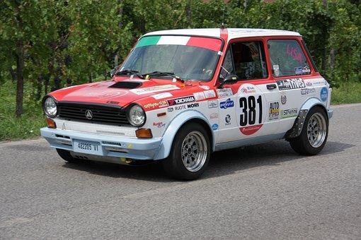 Abarth, Italian, Car, Fiat, Race, Motor Race, Rally