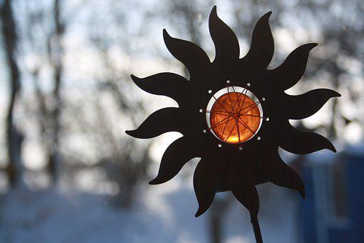 Winter, Snow, Cold, Winter Magic, Frost, Sun, Metal
