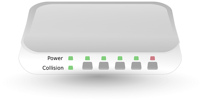 Router, Switch, Hub, Network, Port, Hardware, Component