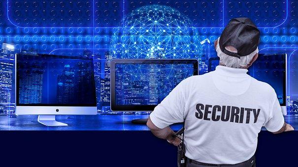 Security, Man, Monitor, Binary, Binary System, Computer