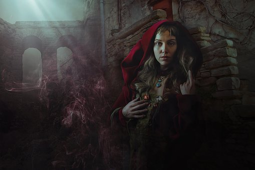 Fantasy, Dark, Gothic, Female, Morgan Le Fay