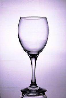 Wine Glass, Empty, Transparent, Glassware, Clear