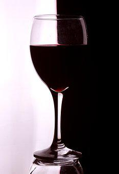 Artistic, Wine, Glass, Red, Pattern, Creative, Simple