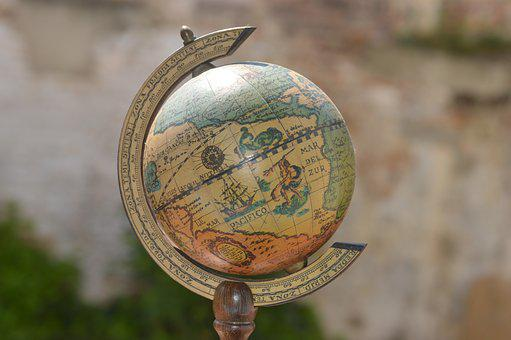 Earth, Planisphere, World Map, Globe, International