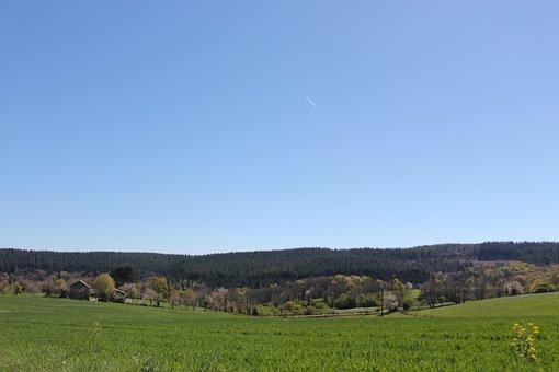 Mont-gargan, Limousin, Sky, Nature, Landscape