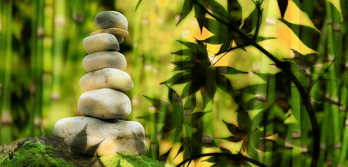 Wellness, Stones, Stack, Relaxation, Meditation