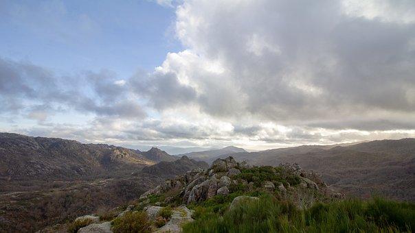 Castro Laboreiro, Portugal, Melgaco, Mountain, Sky