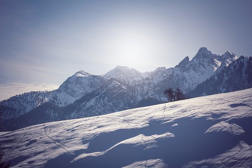 Landscape, Winter, Snow, Wintry, Nature, Mountains