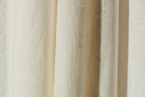Fabric, Nature, Background, Textile, Curtain, White