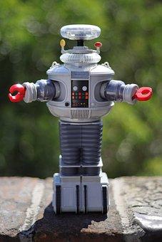 Robot, B9, Toy, Retro, Nostalgia, Retro Toy