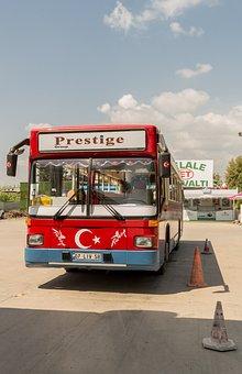 Bus, Prestige, Turkey, Vacations, One, Shuttle, Side