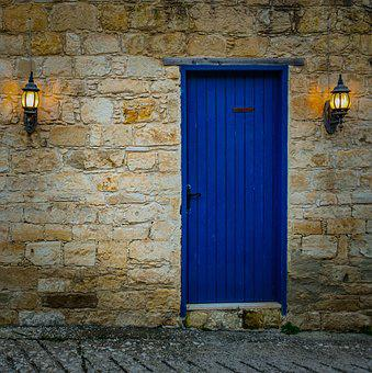 Door, Lamps, House, Architecture, Traditional, Light