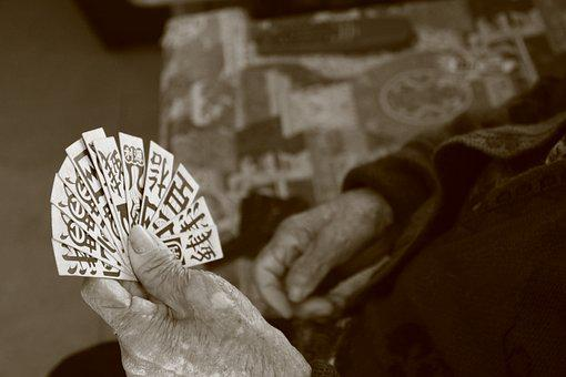 Chinese Cards, Playing Cards, Traditions, Hands, Old