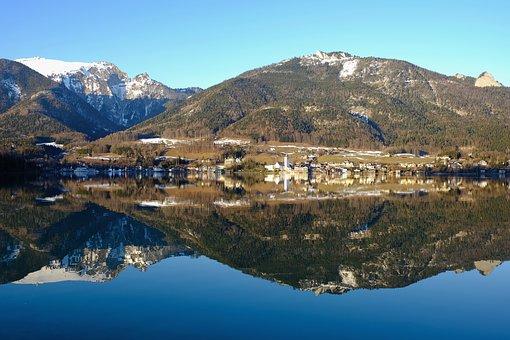 Nature, Landscape, Water, Lake, Water Spieglung