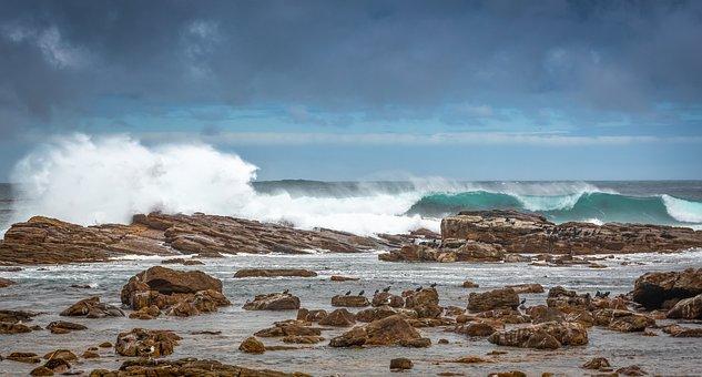 Coast, Surf, South Africa, Sea, Water, Beach, Ocean