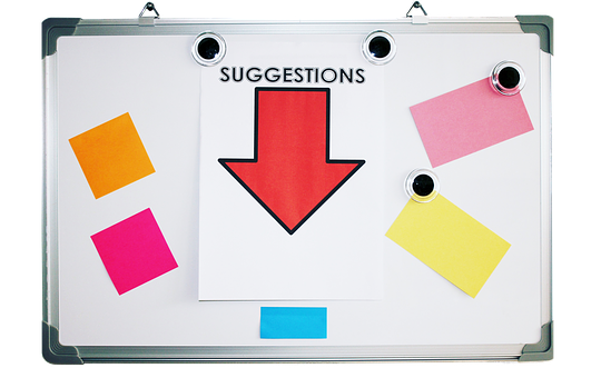 Whiteboard, Notice, Message, Encouragement, Board