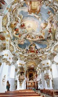 Wieskirche, Wies, Church, Bavaria, Rococo, Christianity