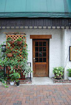 Moon, Cafe, A Small Collection, Restaurant, Entrance
