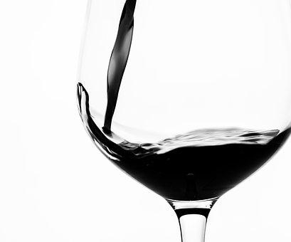 Alcohol, Alcoholic, Beverage, Black, Black And White