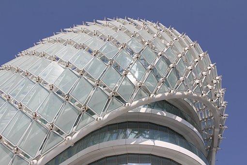 Abu Dhabi, Yas Hotel Abu Dhabi, Architecture, White