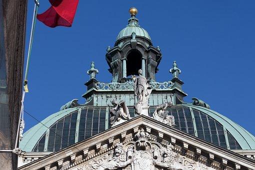 Palace Of Justice, Munich, Bavaria