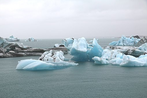 Ice, Mer De Glace, Climate Change, Climate Protection