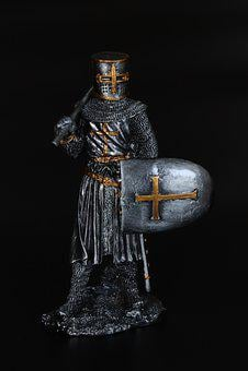 Knight, Crusader, Sword, Warrior, Medieval, Soldier