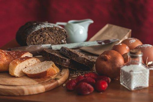 Bread, Still Life, Food, Bakery, Breakfast, Fresh, Home