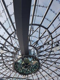 Hangar 7, Salzburg, Glass, Glass Roof, Construction