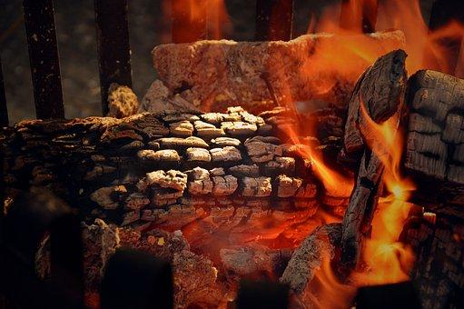 Fire, Wood, Fire Bowl, Flame, Embers, Burn, Heat, Glow