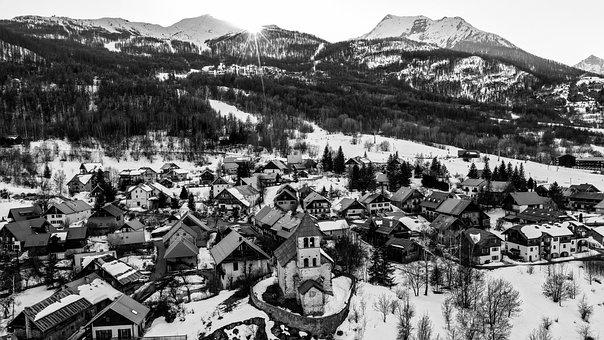 Village, Vacancy, Holiday, Travel, City, Landscape