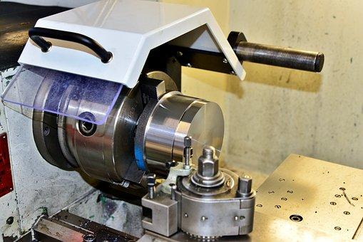 Lathe, Metalworking, Machine, Mechanical Engineering