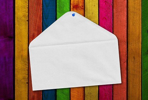 Letters, Envelope, Boards, Wall, Fence, Colorful, Color