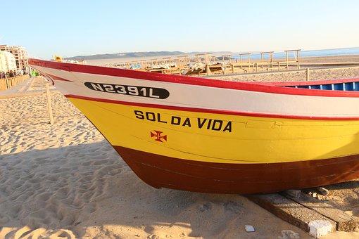 Sun Life, Sol, Boat, Summer, Holiday, Light, Peace