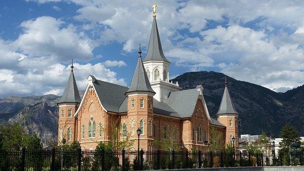 Lds, Temple, Mormon, Utah, Church, Building, Religious