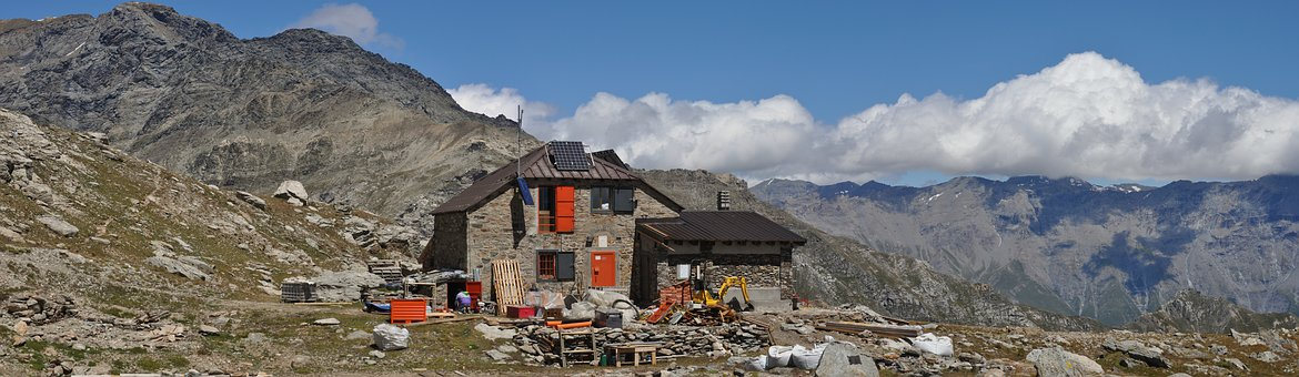 Mountain, Mountanins, Alpes, Vaccarone, Refuge