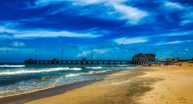 Jennette's Pier, Nags Head, Outer Banks, North Carolina