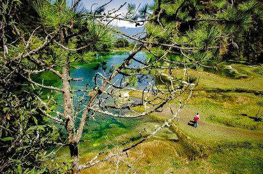 Nature, Lagoon, Paradise, Water, Landscape, Travel