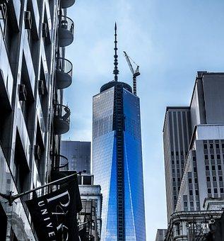 New York, The World Trade Center, Usa, America