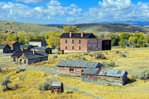 Old Bannack Ghost Town, Bannack State Park, Bannack